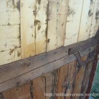 Resvirkeskonstruktion och plankvägg