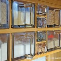 Reda-behållare av glas