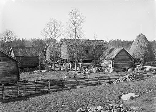 gården Skeppehult ev Svinhults sn. Östergötland. Foto AC Hultgren