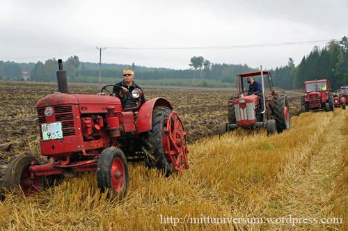 plöjning veterantraktorer
