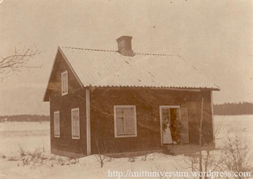 1911 Nybyggt universum vintertid