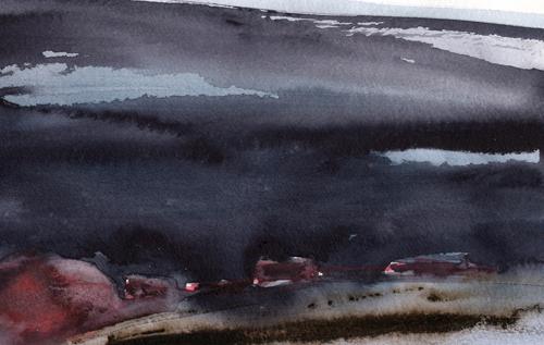 Höst i den sörmländska byn av Mats Ottosson