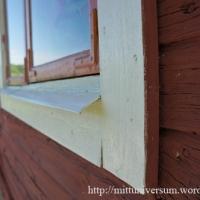 Gamla fönsterbleck