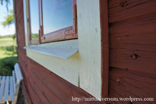 fönsterblecket, det gamla