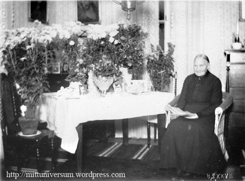 Augusta Charlotta 70 år 5 nov 1927