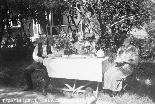 trädgårdsdax 1930-talet