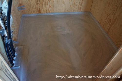 primning av golv
