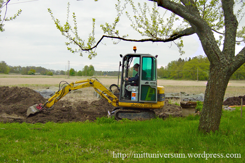 grävning